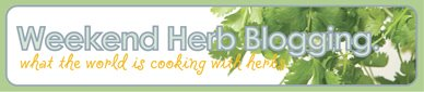 Weekend Herb Blogging Banner