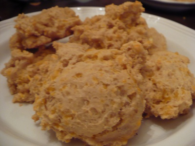 Gluten Free Casein Free Garlic and Cheese Biscuits
