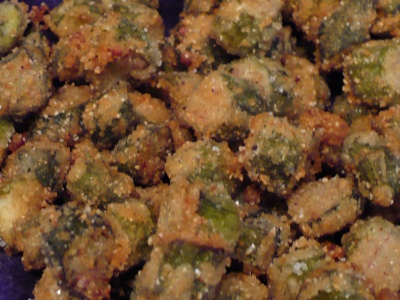 Gluten Free Fried Okra