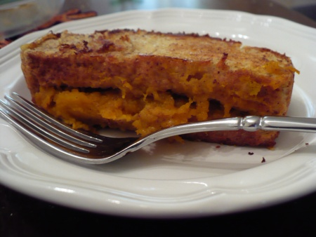 Pumpkin Stuffed French Toast