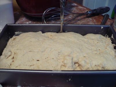 Risen Gluten Free Dough