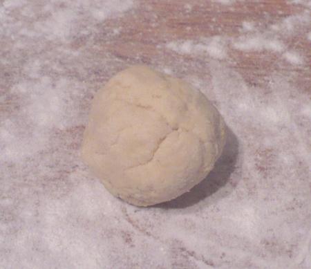 Ball of Gluten Free Tortilla Dough