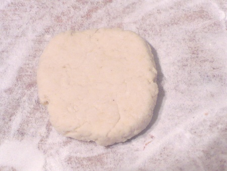 Gluten Free Flour Tortilla - slightly rolled