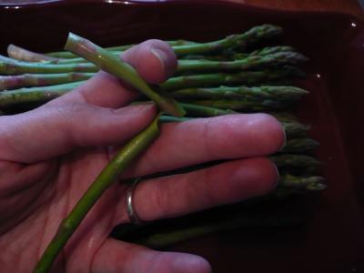 Prepping Asparagus 2