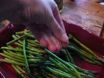 Salting the Asparagus