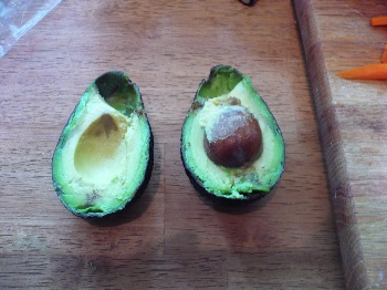 Slice the Avocado into Halves