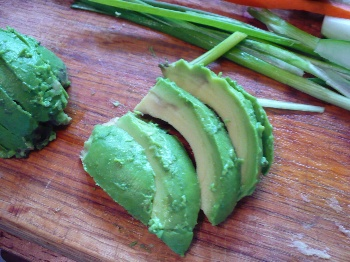 Avocado Slices For a Sandwich